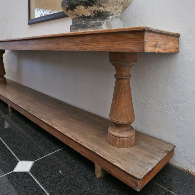 Wooden Console 1