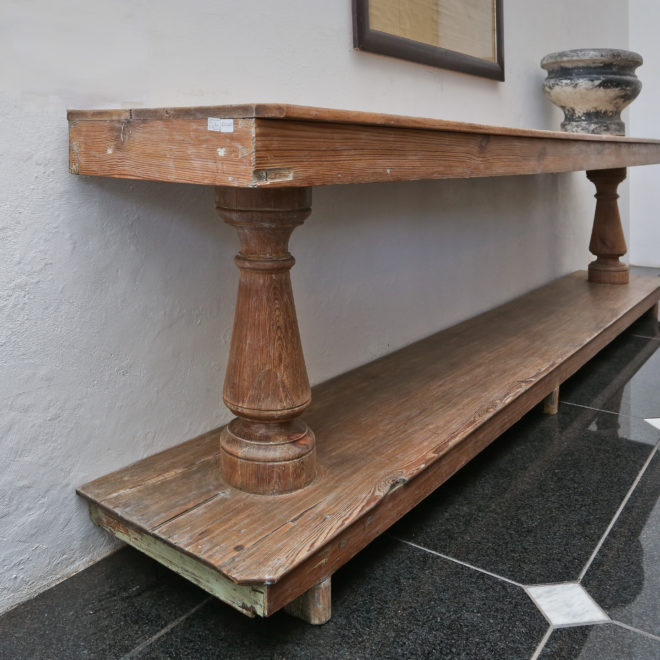 Wooden Console 2