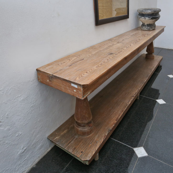 Wooden Console 3