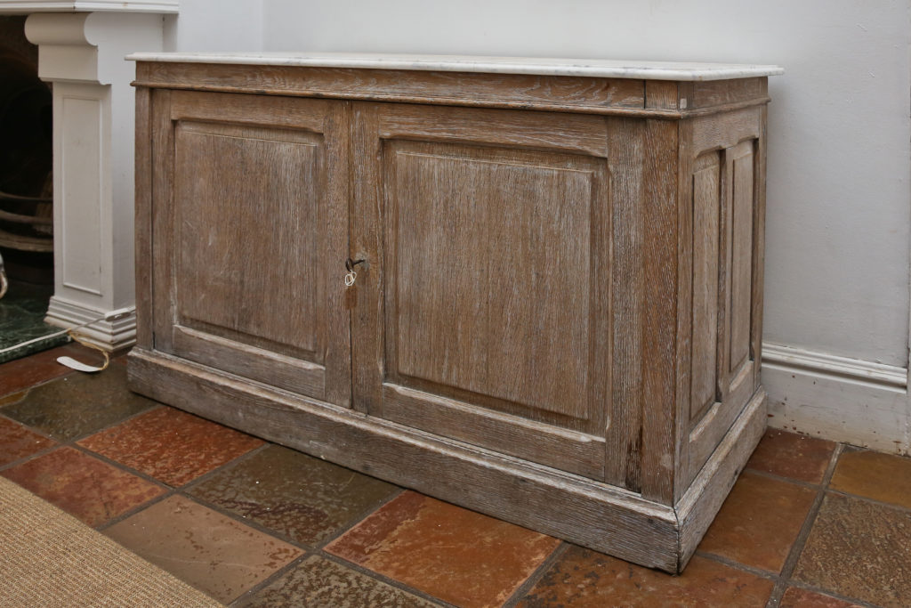 Limed Oak French Buffet 2