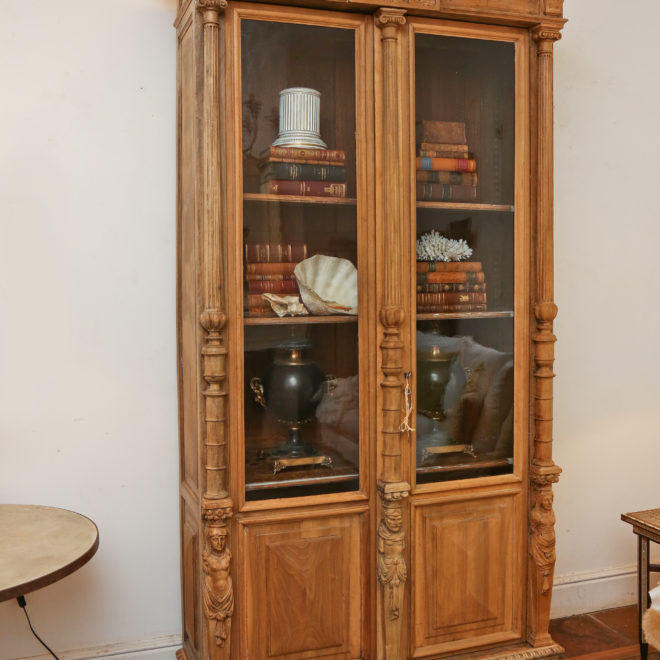19th C French Biblioteque 4