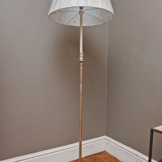 Silver Finish Standard Lamp 1