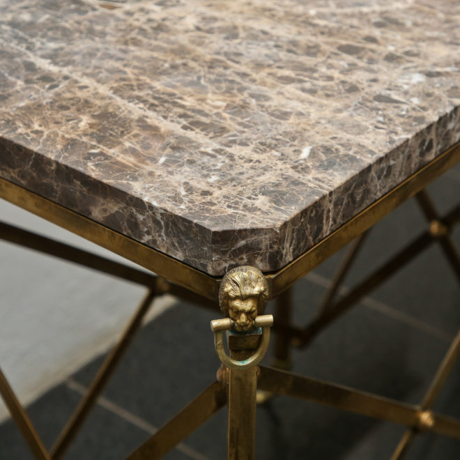 Marble console 5