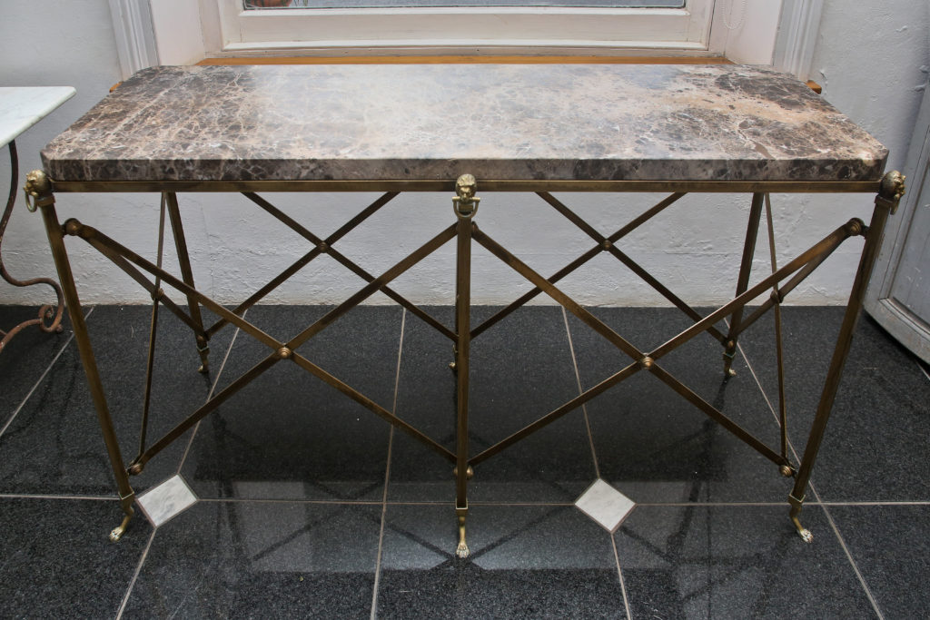 Marble console 6