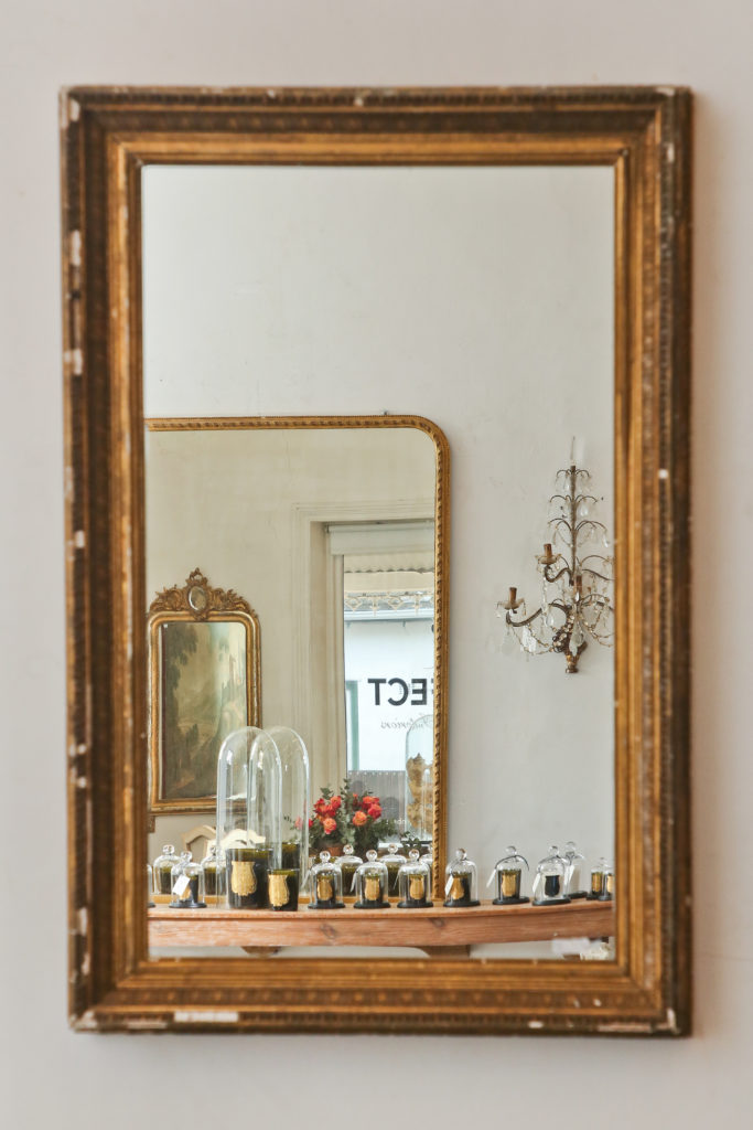 19thC Gilt framed mirror