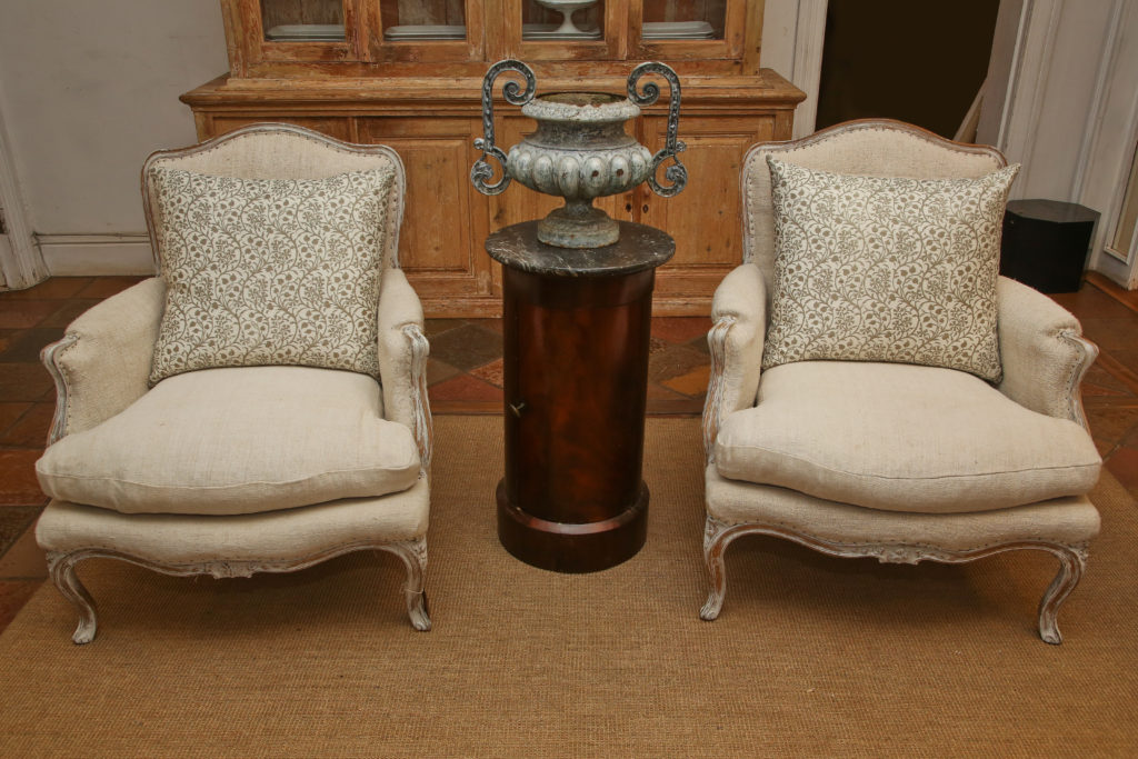 Pair French Chairs 1