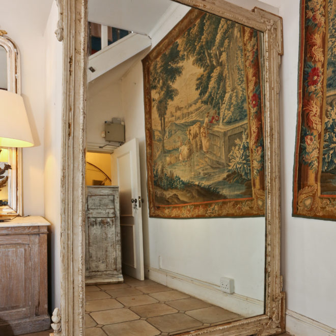 Large Painted Mirror 1