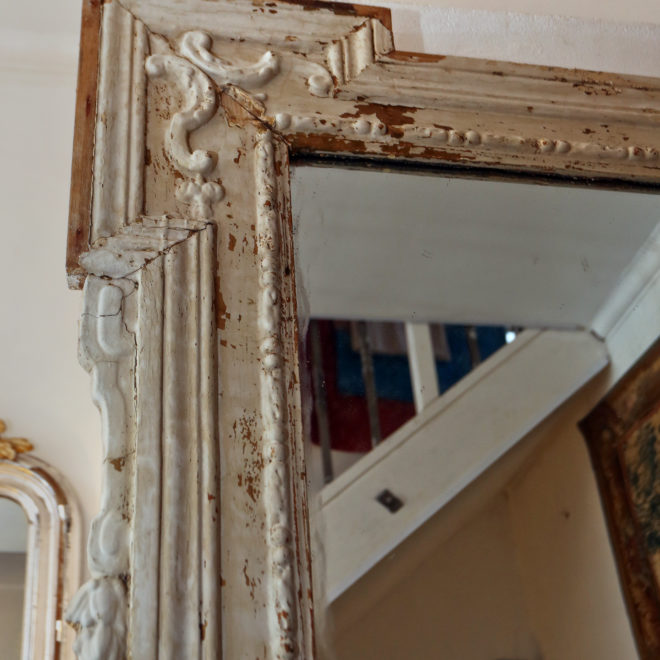 Large Painted Mirror 3