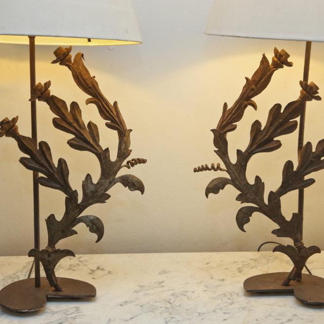 Pr Sconce lamps 1