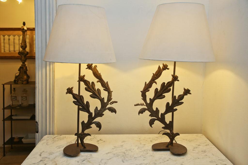 Pr Sconce lamps 2
